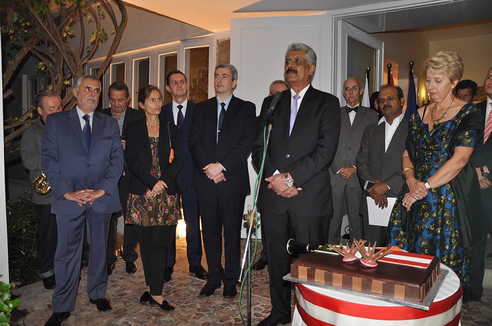 Address of A. Q. Balouch on annual day of Austria at Islamabad on 26 oct 2015